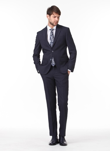 Kip Kip Dynamic Fit Düz Lacivert Takım Elbise Lacivert